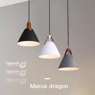 【光的魔法師】丹麥極簡 皮帶吊燈