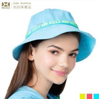 【HOII】HOII標語漁夫帽-大人(UPF50+抗菌抗UV防曬涼感先進光學機能布)