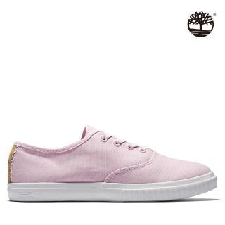 【Timberland】女款淺粉色帆布1973休閒鞋(A28MJX82)