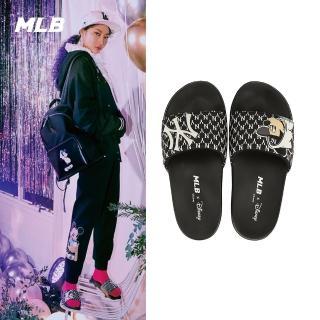 【MLB】MONOGRAM系列 米奇紐約洋基隊拖鞋(32SHHK011-50L)