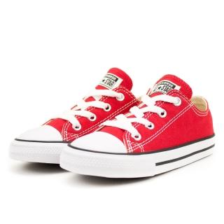 【CONVERSE】Chuck Taylor All Star 紅 嬰幼 休閒鞋(7J236C)