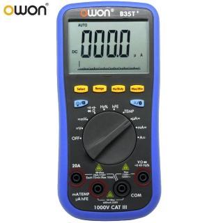 【OWON】OWON 智慧型3 5/6 TRMS三用電錶 B35T+(三用電錶)