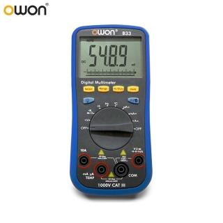 【OWON】OWON 智慧型3 3/4位三用電錶 B33+
