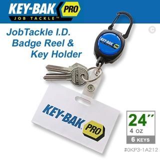 【WCC】KEY-BAK JobTackle 系列 24英吋伸縮鑰匙圈證件夾(#0KP3-1A212)