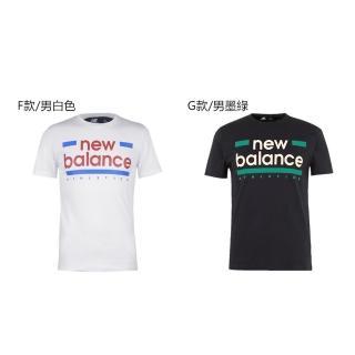 【NEW BALANCE】經典 LOGO 圓領 短T(多款多色選)