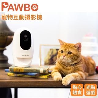 【PAWBO 波寶】寵物互動攝影機-白 ZLX01TE00E