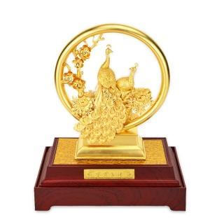 橋星珠寶999黃金孔雀-菲常興旺指定檔
