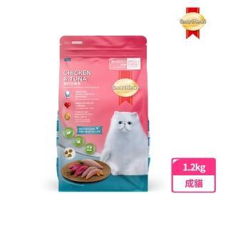 【SmartHeart 慧心】貓糧 - 雞肉+鮪魚口味(1.2kg)