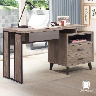 【Hampton 漢汀堡】沃爾多5尺伸縮書桌(一般地區免運費/書桌)