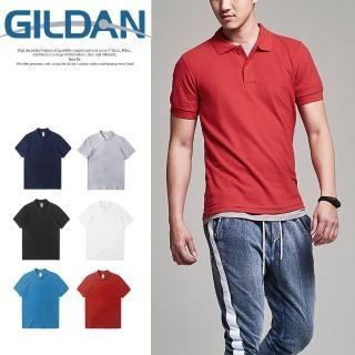 【GILDAN】吉爾登快乾cvc素面polo衫 情侶 營業工作衫7色