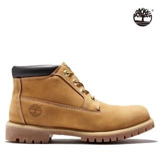 【Timberland】男款小麥黃經典防水短靴(23061231)