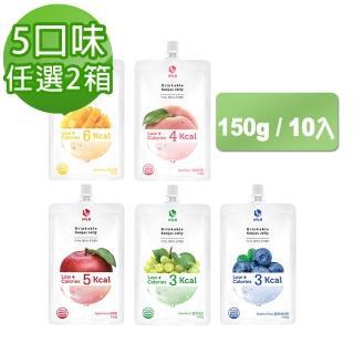 【Jelly.B】低卡蒟蒻果凍150g*10入 任選2箱組(五口味任選)