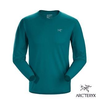 【Arcteryx 始祖鳥】男 Velox 快乾 長袖圓領衫(模範綠)