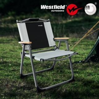 【Westfield】超輕量鋁合金折疊椅(鋁合金/快速折疊/高質感/附收納袋)