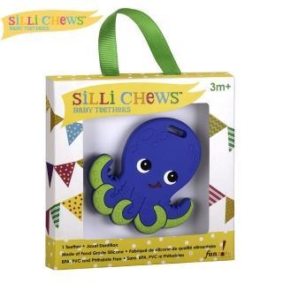 【silli chews】章魚歐力咬牙器