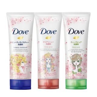 【Dove 多芬】胺基酸型淨膚洗面乳 100g 3款可選(潤澤水嫩/淨亮彈嫩/淨透柔嫩)