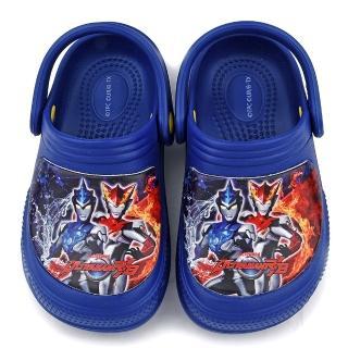 【童鞋城堡】變身英雄花園鞋 超人力霸王(UM0269-寶藍)