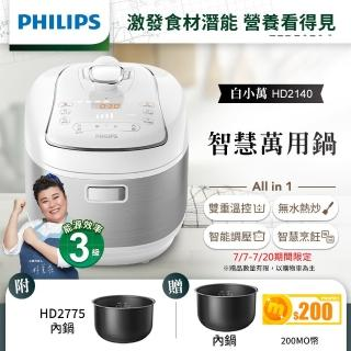【飛利浦PHILIPS】智慧萬用電子鍋(HD2140)