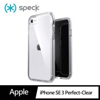 【Speck】iPhone SE 第2代/ i7/ i8 Presidio Perfect-Clear 抗菌透明防摔殼(防摔保護殼)