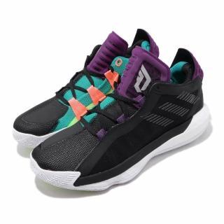 【adidas 愛迪達】籃球鞋 Dame 6 GCA 運動 男鞋 Damian Lillard 鴛鴦 雙色 黑 紫(EF9872)