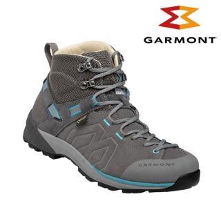 【GARMONT】女款 Gore-Tex中筒郊山健走鞋Santiago GTX WMS 481240/615 灰藍色(登山健行鞋、防水)