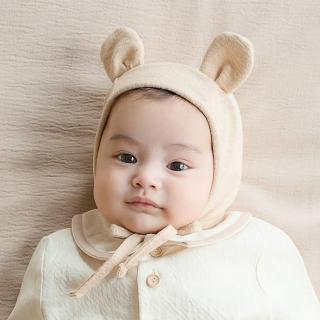 【Happy Prince】韓國製 Bebe小熊天絲嬰兒童帽(寶寶帽童帽保暖)