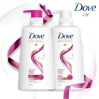 【Dove 多芬】精準修護洗/潤髮乳(洗髮680ml/潤髮660ml)