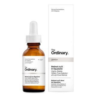 【The Ordinary】視黃醇 0.5% 角鯊抗老精華 Retinol 0.5% in Squalane(30ml)