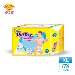 【優力褲】嬰兒褲型紙尿褲特級版男生版XL22片x8包/箱(嬰兒紙尿褲 褲型紙尿褲)