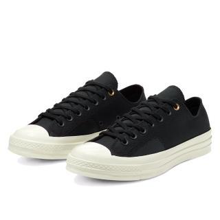 【CONVERSE】CHUCK 70 OX 低筒 1970 男女休閒鞋 黑(167819C)