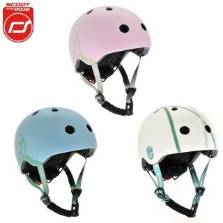 【Mombella & Apramo】奧地利Scoot&Ride-兒童戶外用安全帽(Scoot Ride奧地利安全帽學步車保護外出郊遊)
