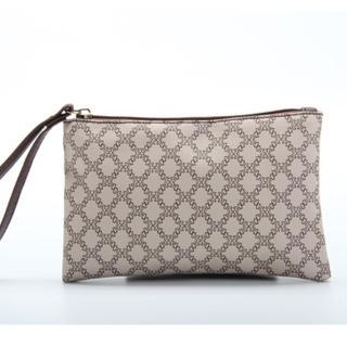 【JW】歐洲設計LOGO緹花紋隨身手拿包(共3色)