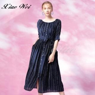 【CHENG DA】專櫃精品春夏款時尚短袖洋裝(NO.511319)