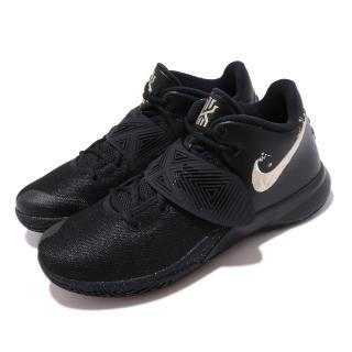 【NIKE 耐吉】籃球鞋 Kyrie Flytrap III 男鞋 避震 包覆 明星款 運動 球鞋 黑 金(CD0191-008)