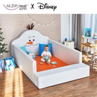 【韓國 ALZiPmat & DISNEY 迪士尼】輕傢俬系列 多功能圍欄地墊/沙發床-(雪寶)