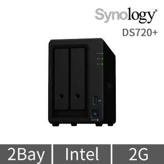 【Synology 群暉科技】DS720+ 2Bay 網路儲存伺服器