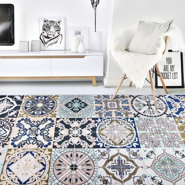 【收納職人】現代歐美輕奢風地毯/床邊毯/茶几毯(五款任選)/