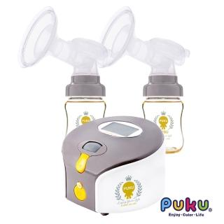 【PUKU 藍色企鵝】Double Easy輕巧型電動雙邊吸乳器