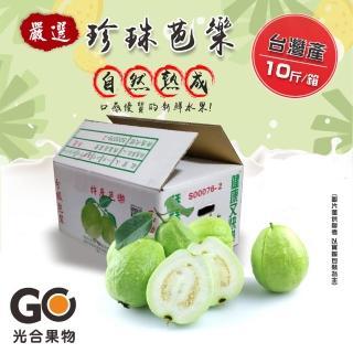 【光合果物】燕巢珍珠牛奶芭樂(20顆/10斤±10%/箱)