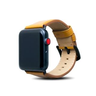 【alto】Apple Watch 皮革錶帶 42/44mm - 焦糖棕(真皮錶帶 Apple Watch 6/SE適用)