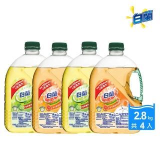 【白蘭】箱購特談組動力配方洗碗精(2.8kg x4入箱購)