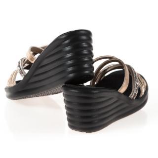 【SKECHERS】女 休閒系列 涼鞋 RUMBLER WAVE(31777RSGD)
