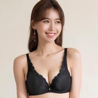 【SAVVY 莎薇】莎薇-VV好愛現 D-F 罩杯內衣-AB3581BL(黑)
