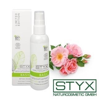 【STYX 詩蒂克】有機玫瑰亮顏定妝噴霧100ml(有機草本臉部保養系列)