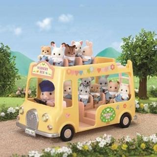 【森林家族】幼稚園雙層巴士(Sylvanian Family)