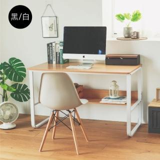 【完美主義】日系簡約設計美型書桌/電腦桌/工作桌/辦公桌(二色可選)