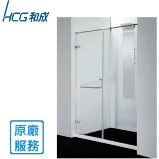 【HCG 和成】SK2W推拉豪華型無框一字兩門淋浴拉門(寬150*高190)