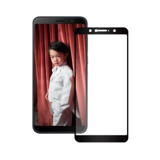 【AdpE】ASUS ZenFone 5Z ZS620KL 黑邊滿版高清鋼化玻璃膜