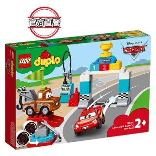 【LEGO 樂高】得寶幼兒系列 Lightning McQueen Race Day 10924 閃電麥坤 學齡前(10924)