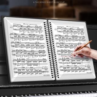 【美佳音樂】A4 不反光 樂譜夾 30頁60面 樂譜文件夾/資料夾(可直接書寫/樂譜夾)